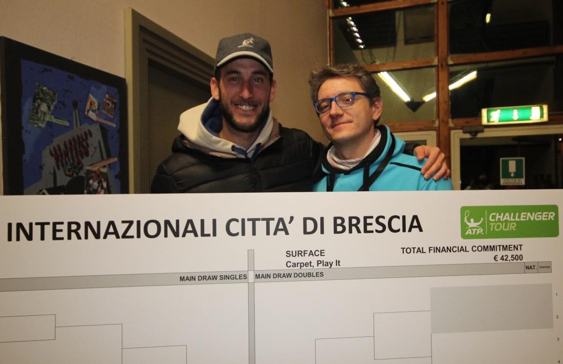 Luca Vanni con Michele Bona (Pro Kennex) - Brescia 2016.jpg